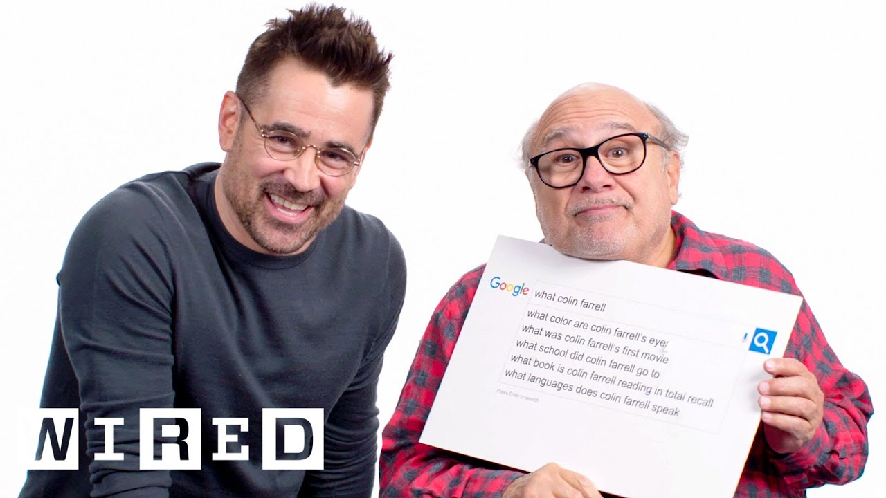 Colin Farrell & Danny DeVito Answer the Web's Most Searched Questions | WIRED