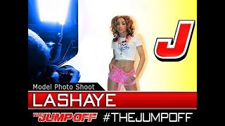 MODEL: Lashaye (‬Hoodswagga Clothing) - Live Model Photoshoot @ TheJumpOff 2012 [WK06]