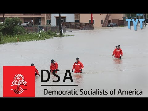 Democratic Socialists Of America Spearheading Harvey Relief