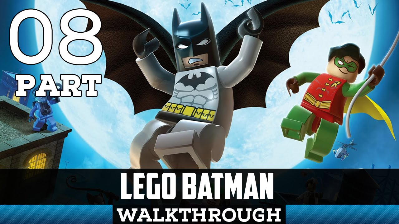Lego Batman Gameplay Walkthrough Part 8 - Under The City ...