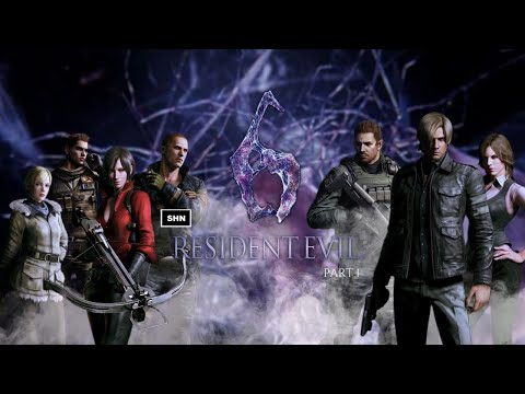 Resident Evil 6: Part 1 Game Movie PS4Pro Full HD 1080p/60fps  Walkthrough Gameplay No Commentary