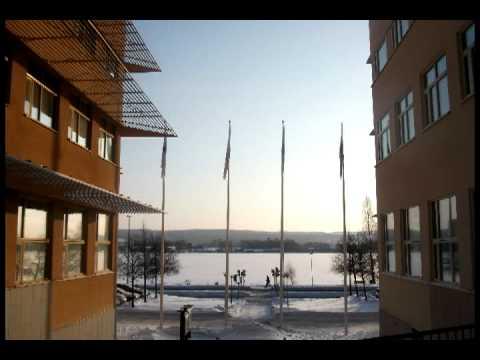 Jönköping in Snow (Sweden)