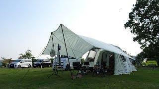 ロゴス グランベーシックで初夏のファミリーキャンプ行って来たよ!