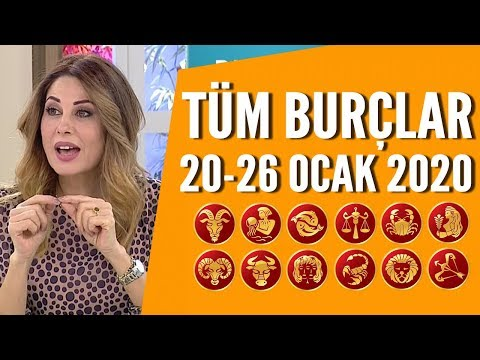TÜM BURÇLAR | 20 Ocak - 26 Ocak 2020 | Hande Kazanova'dan Haftalık Burç Yorumları