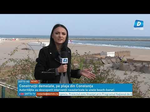 20 de construcții ridicate fără autorizație pe plaja din Faleză Nord, vor fi demolate.