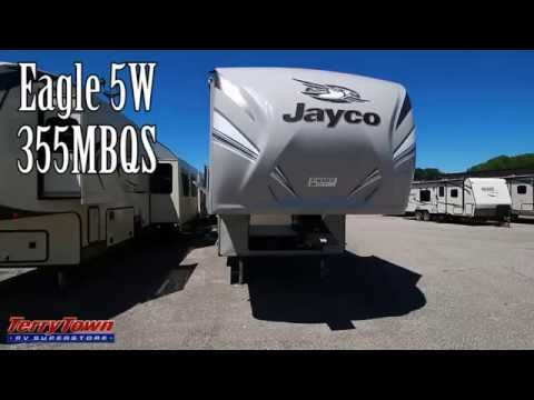 Fantastic 2017 Jayco Eagle 5W 355MBQS Walkthrough  YouTube