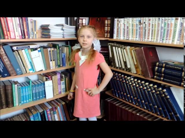 Изображение предпросмотра прочтения – ВиолеттаБондарь читает произведение «Радуга (Как неожиданно иярко…)» Ф.И.Тютчева
