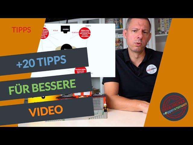 Videos erstellen mit Tipps und Tricks zu Equipment, Software und YouTube.