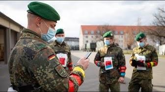 Bundeswehr hilft bei Tests mit Corona-App