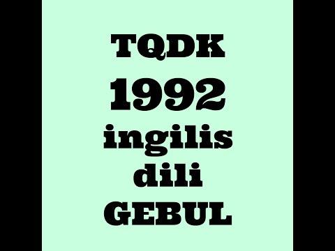 TQDK QƏBUL 1992