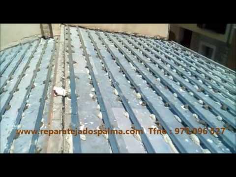 rastreles omega en tejado para colocaci n de tejas youtube