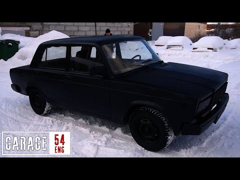 Painting A Lada With Some Home-brewed Vantablack Paint