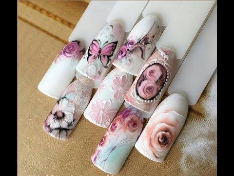 Vintage Nail Art Designs - Vintage Nail Art Designs - YouTube