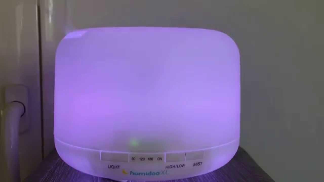humidificateur b b humidoo xl youtube. Black Bedroom Furniture Sets. Home Design Ideas