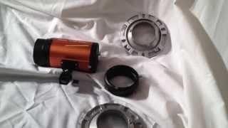 universal mount to bowens mount ring adapter studio flash strobe UNBOX