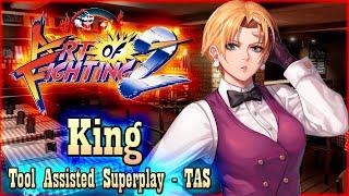 【TAS】ART OF FIGHTING 2 (RYUUKO NO KEN 2) - KING