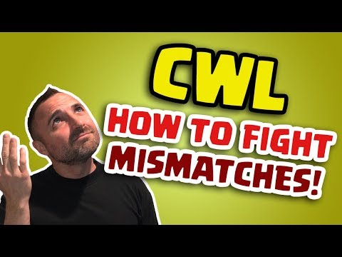 Clash of Clans • CWL • HOW TO FIGHT MISMATCHES!