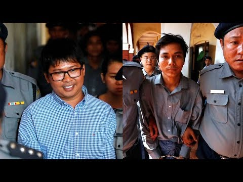 Two Reuters Journalists Face 14 Years in Burmese Prison After Exposing Massacre of Rohingya Muslims