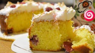Лимонный пирог с малиной и меренгой от Пьера Эрме (Pierre Herme)