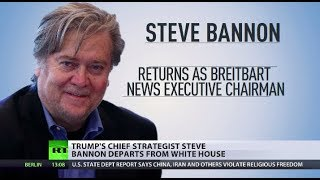 Bannon Banned: Trump fires controversial chief strategist