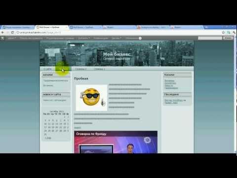 Как вставить текст, видео, картинку   WordPress  уроки