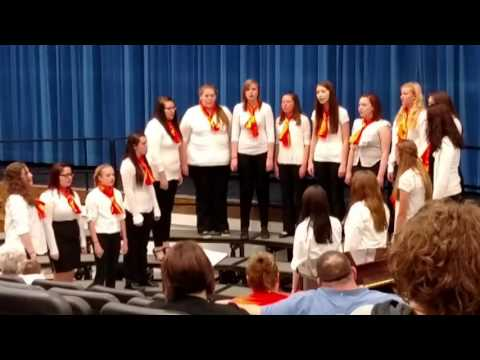 05 10 2016 Newcomerstown High School Choir 05 Women
