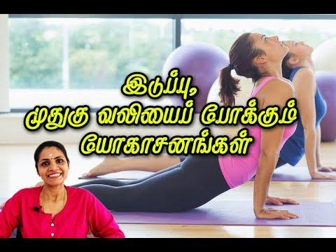Yoga for Back Pain | இடுப்பு, முதுகு வலியைப்  போக்கும் யோகா @PEN TV TAMIL