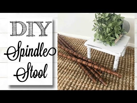 DIY Salvaged Spindle Plant Stand | {CLOSED GIVEAWAY}