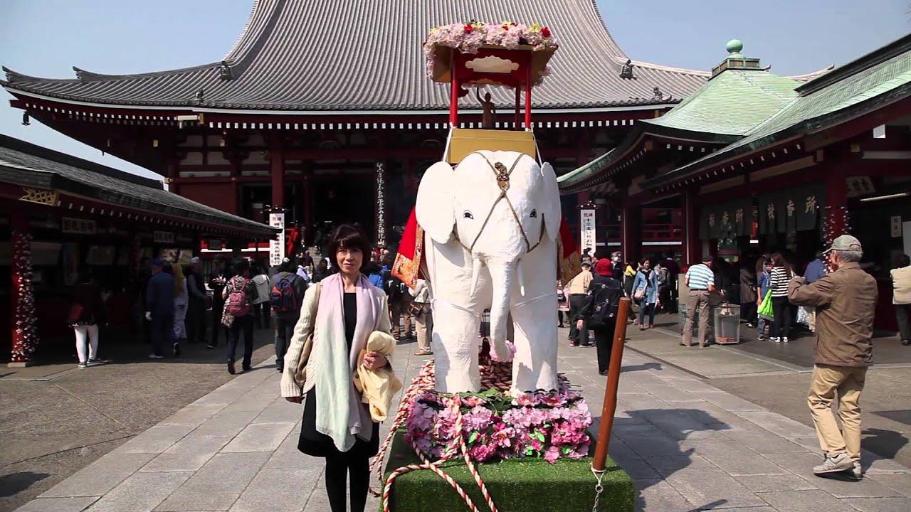 Japanese celebrate the Buddhas birthday YouTube