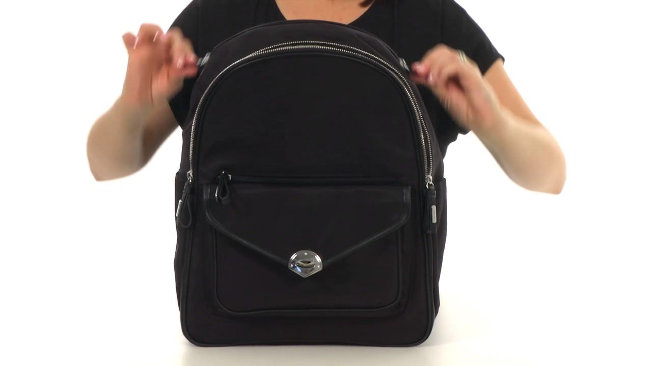 b2875e2f6785 Baggallini Granada Laptop Backpack SKU 8875718 - YouTube