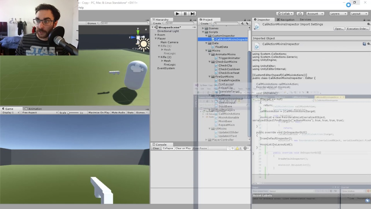 Unity Tutorial - Create a Custom Inspector with a Reorderable List: Part 1