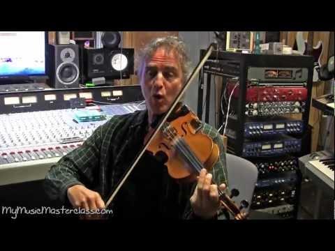 Gary Oleyar Violin and Fiddle Masterclass 2