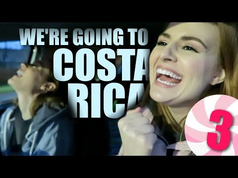 WE'RE GOING TO COSTA RICA!