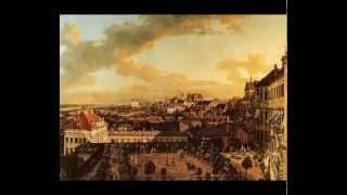 Polska muzyka barokowa Mielczewski Canzona prima a due Polish baroque music dawna Warszawa Canaletto