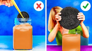 Crazy Ways to Use Food  Giant Oreo Recipe And Advertising Food Secrets!