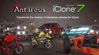 iClone 7 Tutorial - Creating Interactive Vehicles