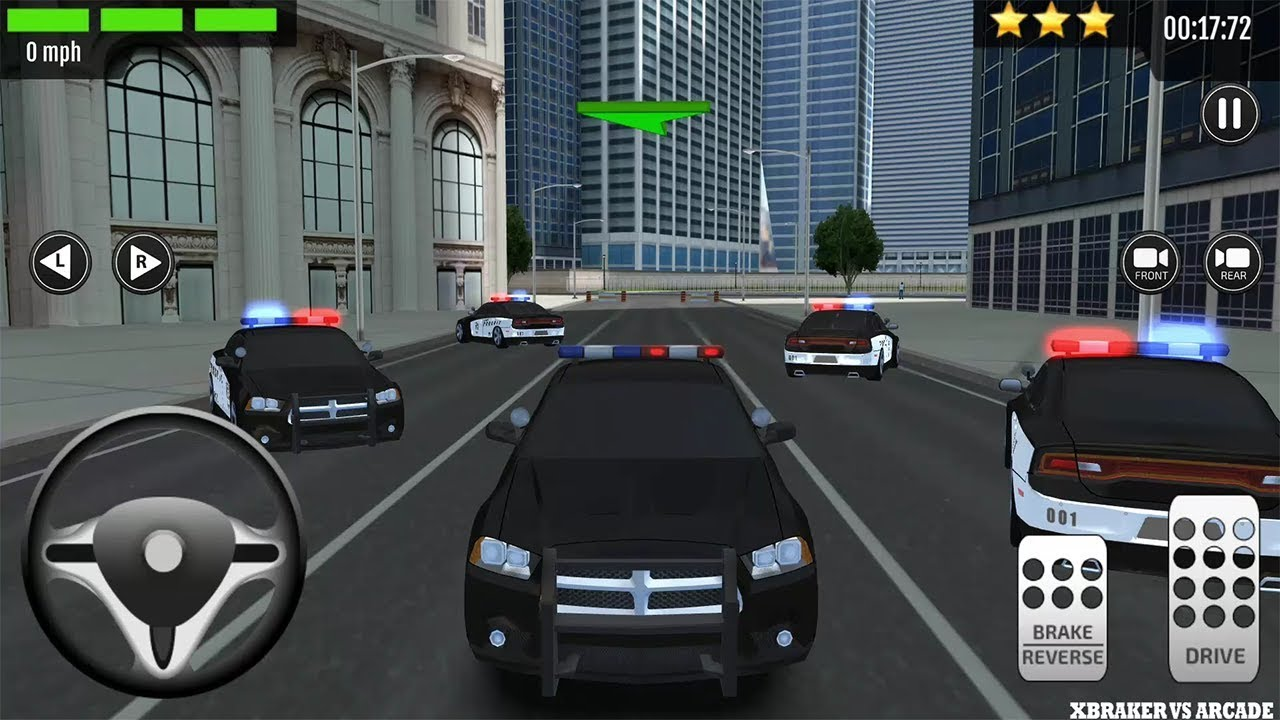 Arcade Driving School >> 911 Driving School Simulator 2017 Police Car Android Gameplay Fhd