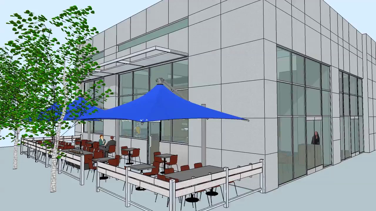 Sketchup d animation of restaurant interior youtube