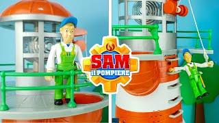 SAM il POMPIERE 🚒 Il FARO con Suoni e Luci [Apertura Giochi]
