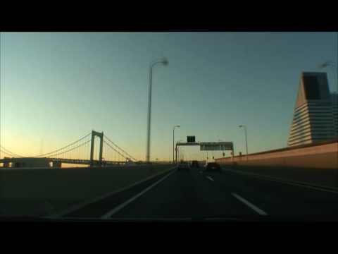 (HD) Tokyo Metropolitan Expressway in the early morning 02