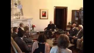 Meeting with UNESCO Director General, Irina Bokova