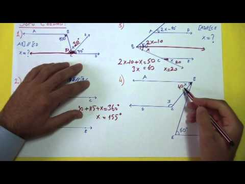 Doğruda Açılar Soru Çözümü Şenol Hoca Matematik