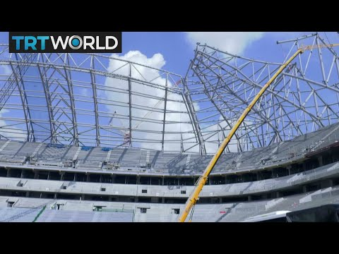 Qatar World Cup: Gulf state building for 2022 despite criticism