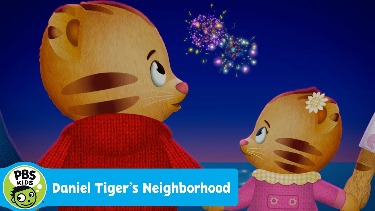 DANIEL TIGER\'S NEIGHBORHOOD | First Time for Fireworks | PBS KIDS ...