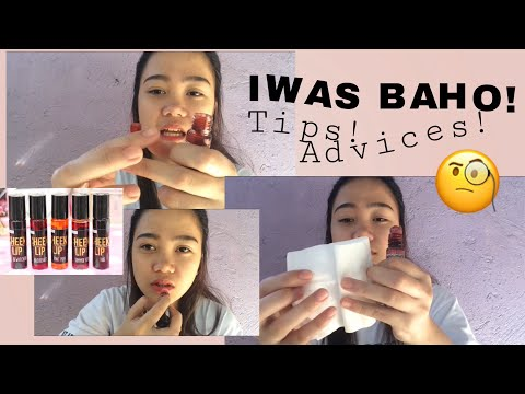 How to clean your Liptints | No more badsmell na!! | Ayen Pascual