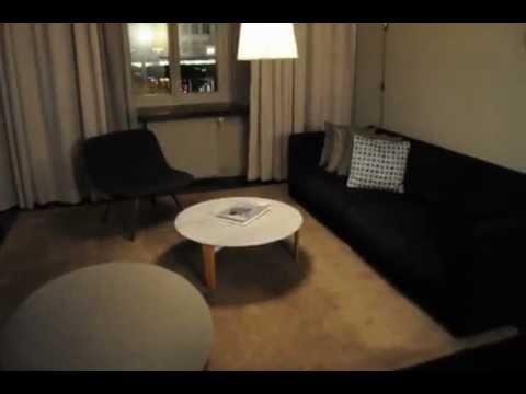 My Room at the Nobis Hotel in Stockholm Sweden