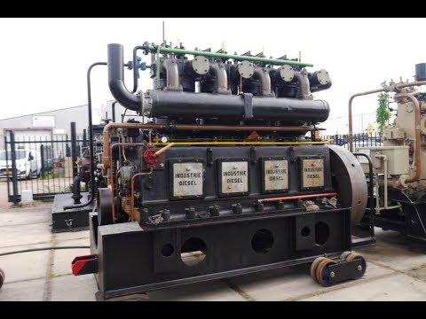 Start,Industrie,4VD6A,Dieselmotor,Stationärmotor,stationaire Motor