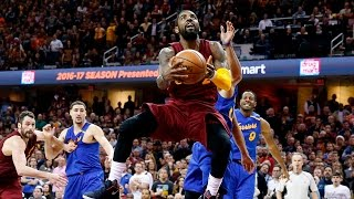 Gottlieb: Kyrie Irving hits game winning shot to defeat Warriors 109-108