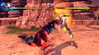 Dragon Ball Xenoverse 2 | Goku vs. Majin Vegeta