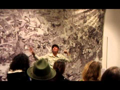 """(1/4) """"True Cost of Coal"""" w/ Beehive Collective in Santa Fe, NM (11/16/2012)"""